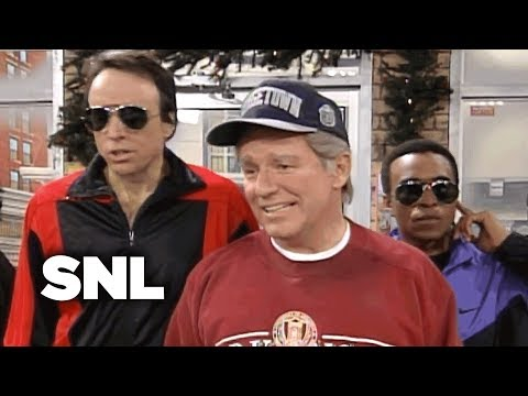 President Bill Clinton at McDonald's - SNL