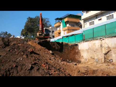 Construction in progress on Sakar IX site