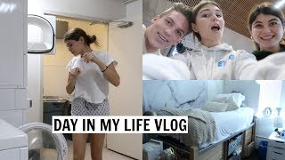 VLOG l day in my life college style lol
