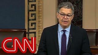 Al Franken says he will resign from the Senate