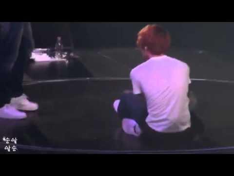 Jaejoong respon when fans shouted Jung Yunho
