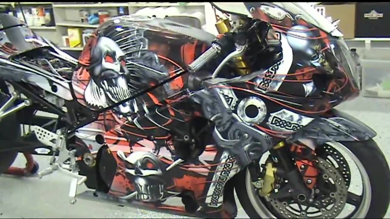 Auto Trim Design Apex Diablo Motorcycle Wrap Kit Youtube
