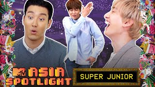 SUPER JUNIOR Dance To Girl Groups & Talk About Being Bad In School | Jenga Part 2 | Asia Spotlight