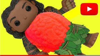 CUTTING OPEN Maui BRAIN BELLY! Too Many Gumballs!!  - Tons of Toyz