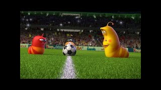 LARVA ❤️ The Best Funny cartoon 2017 HD ► La FOOTBALL ❤️ The newest compilation 2017 ♪♪ PART 57