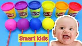 Play and learn numbers and colors so the child becomes smart