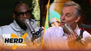 Deontay Wilder discusses controversial split draw in Tyson Fury fight and more | BOXING | THE HERD