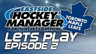 Episode 2 - Improving the Team! | Eastside Hockey Manager:Early Access 2015 Lets Play