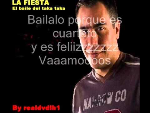 La Fiesta   El Baile del Taka Taka Karaoke letra