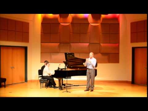 Performing a recital at the Frost School of Music.  Just the first mvt. of the Hindemith Trumpet Sonata.