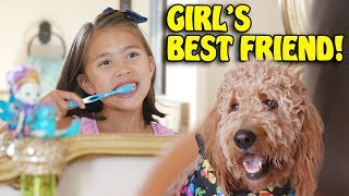 GIRL'S BEST FRIEND!  Morning Routine with Chloe and the Enchantimals!
