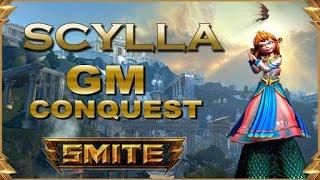 SMITE! Scylla, Cuando confias en tu team :V! GM Conquest #50