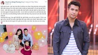 Không ngờ bạn gái cũ Trương Thế Vinh mang bầu 2 tháng trước khi chia tay,khoe ảnh con 1 tuổi mà sốc!