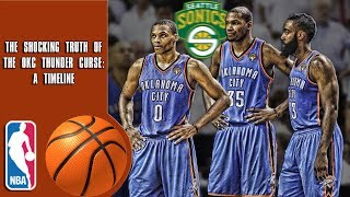 The Shocking Truth Behind The OKC Thunder Curse: A Timeline