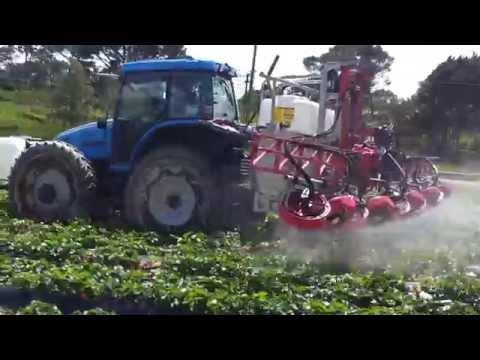 Custom Strawberry Sprayer with Croplands' Horizon Boom