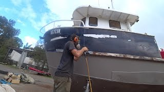 A day in the life of a trawler restoration