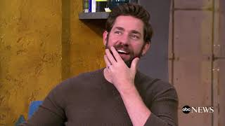 Director John Krasinski gushes over wife Emily Blunt's performance in thriller 'A Quiet Place'