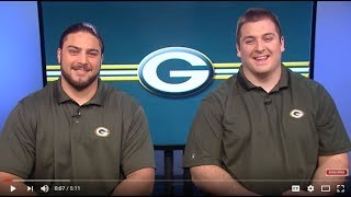 Packers David Bakhtiari And Corey Linsley On Holding, Shaving, Loving - Well, Not Really