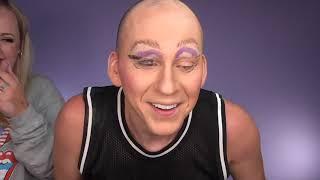 Horrible Halloween Trixie Makeup On Trixie Mattel   Brittany Broski