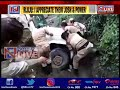 Viral video: Strength of Naga women battalion on display as they lift SUV from drain