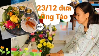 23 tháng 12 đưa ông táo về trời | December 23 is the day to bring the kitchen god to heaven