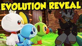 Pokemon Sword and Shield Starter Evolution Reveal Details - Gen 8 Starter Evolutions