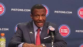 Dwane Casey breaks down Pistons' thrilling OT win over Rockets