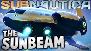 Subnautica - SUNBEAM RESCUE SHIP IN GAME! (Subnautica Early Access Gameplay)