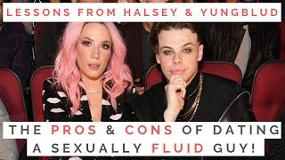 LESSONS FROM HALSEY & YUNGBLUD: The Pros & Cons Of Dating Someone Sexually Fluid! | Shallon Lester