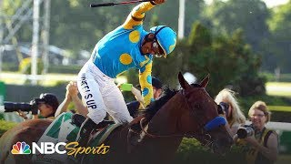 Relive all three legs of American Pharoah's Triple Crown win