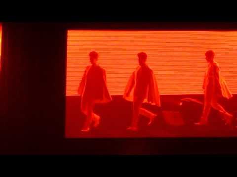120804 SMTown Tokyo 2012 Super Junior Superman Opening