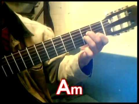 Si tú no estás acordes en guitarra (David Cancino)