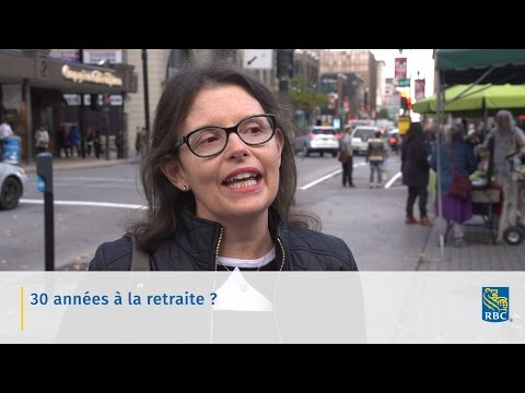 Vidéo : Une dans une série de vidéos intitulée « Parlons retraite » qui se trouvent sur le nouveau site Espace retraite de RBC, www.rbc.com/plan30ans