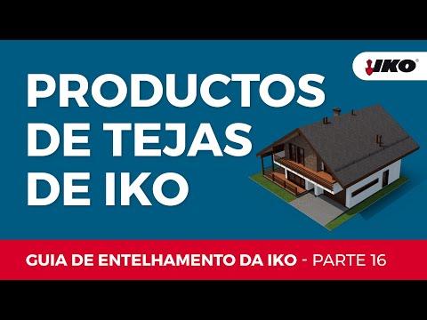 IKO Instruções para a aplicação de telhas de asfalto - Parte 16: Produtos