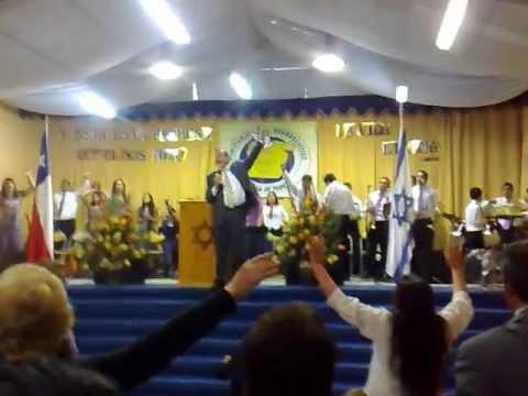 Cruzada de Poder Chillan medley Coro Israel Visita Gary Lee