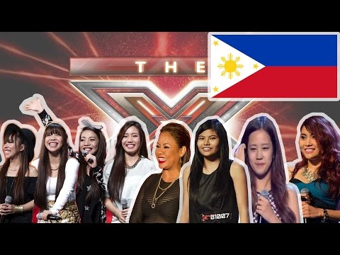 Filipinos at Xfactor: Five AMAZING performances