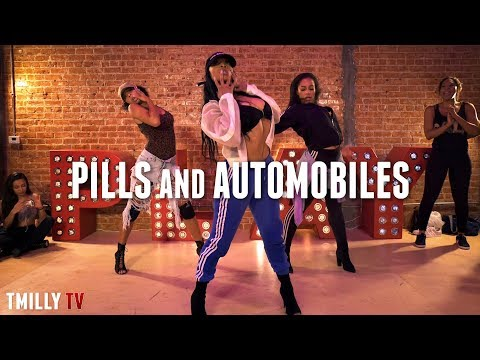 Chris Brown | Pills & Automobiles | Choreography by Aliya Janell |#TMillyTV