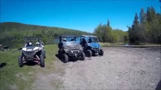 Yamaha Wolverine, Polaris Ranger 900XP and Polaris RZR 1000 XP