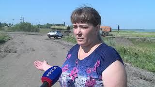 В Москаленках люди оказались отрезанными от внешнего мира из-за подтопления единственной дороги