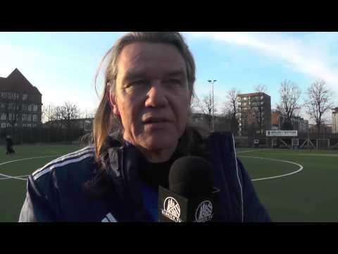 Klaus Pablo Torgau (SC Eilbek II) und Hansjörg Kallenbach (Trainer USC Paloma II) - Die Stimmen zum Spiel (USC Paloma II - SC Eilbek II, Kreisliga 5) | ELBKICK.TV