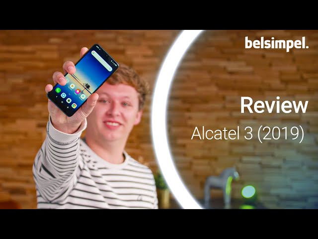 Belsimpel-productvideo voor de Alcatel 3 (2019) 64GB Black