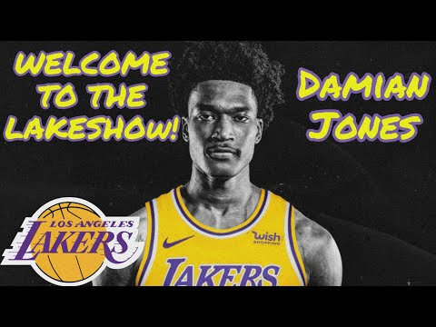 "Damian Jones Offensive/Defensive HIGHLIGHTS ~ ""Welcome to the Lakers"""
