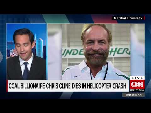 Coal billionaire Chris Cline dies in July 4th crash