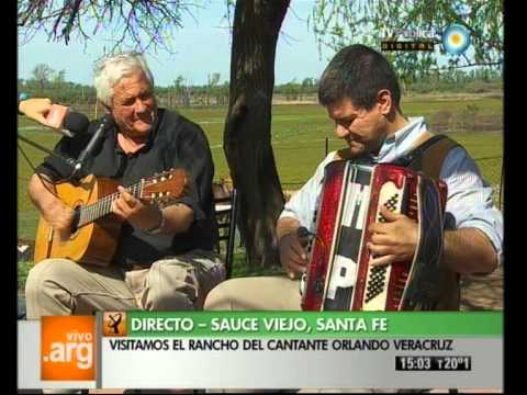 Vivo en Argentina - Santa Fé - Viejo Sauce - Orlando Veracruz - 11-09-12 (3 de 5)