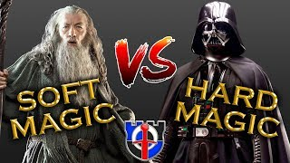 MAGIC in fantasy, soft magic vs hard magic: FANTASY RE-ARMED