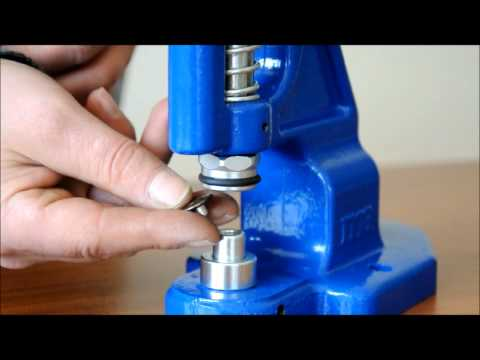 Micron TEP-1 Grommet Attaching machine Jean Button Installation