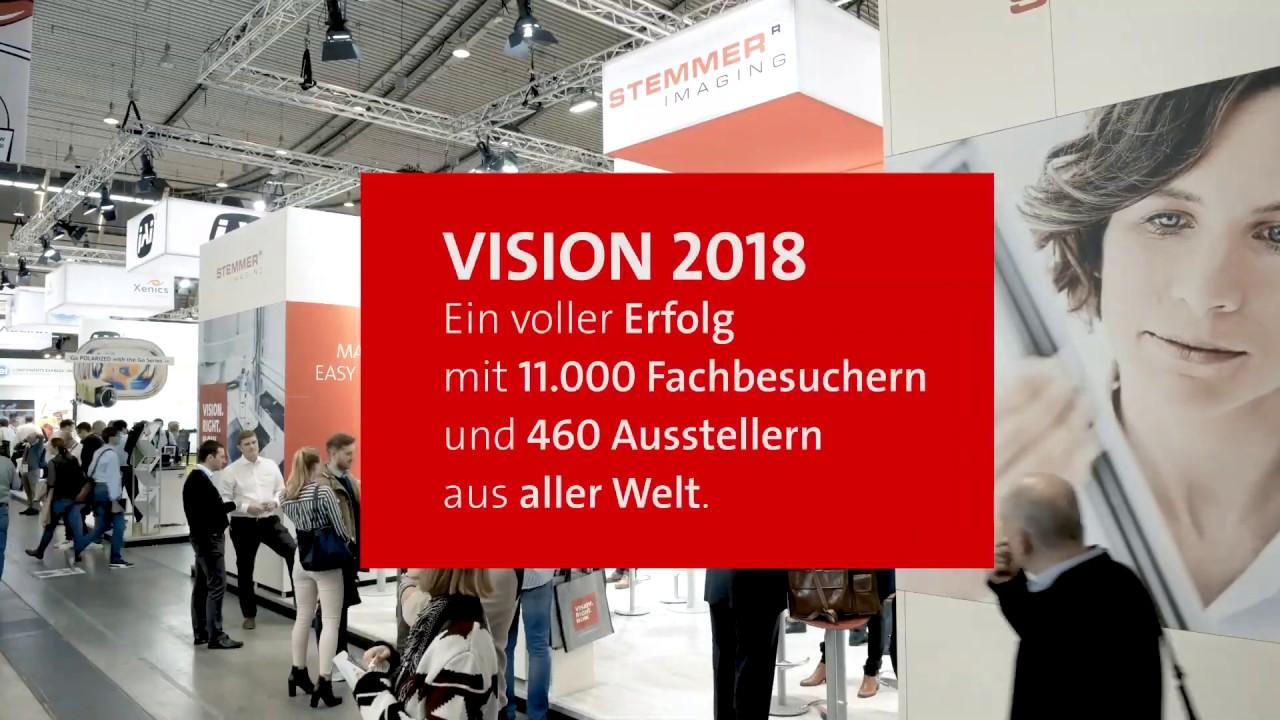 Erfolgreiche VISION 2018 in Stuttgart - ein Rückblick