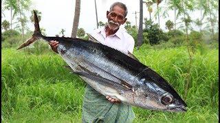 Apollo Fish Recipe   Giant Fish Fry   Big Fish Recipe by Grandpa