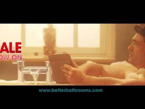 Better Bathrooms January 2014 Sale TV Commercial Advert