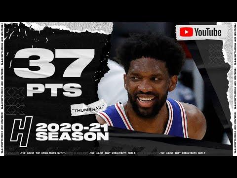 Joel Embiid 37 Points Full Highlights vs Blazers | February 4, 2021 | 2020-21 NBA Season